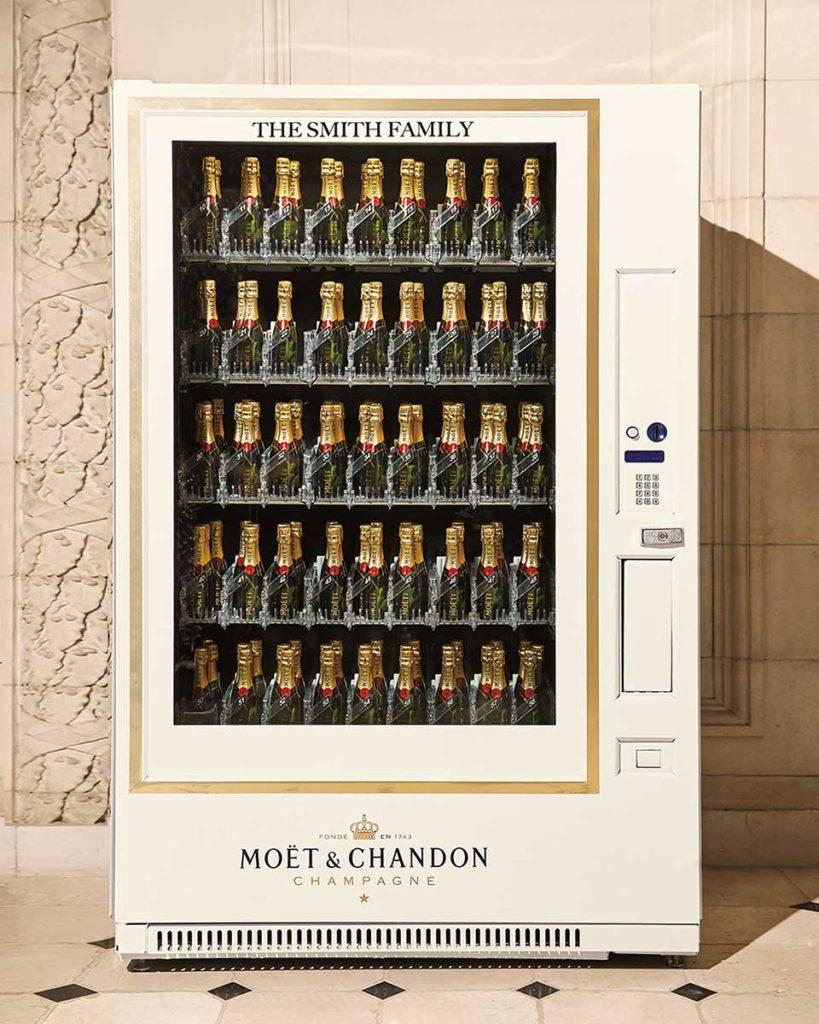 Moet & Chandon Champagne Vending Machine