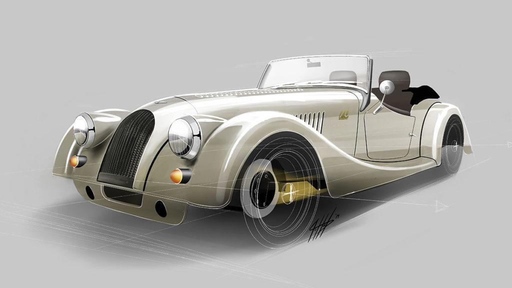 Morgan Plus 4 70th Anniversary Edition Model