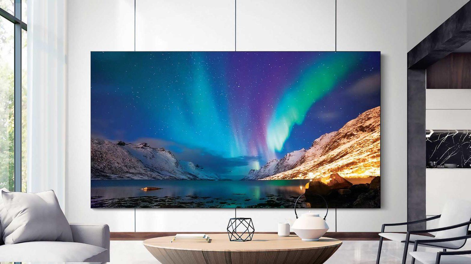 New Samsung TVs Unveiled CES 2020
