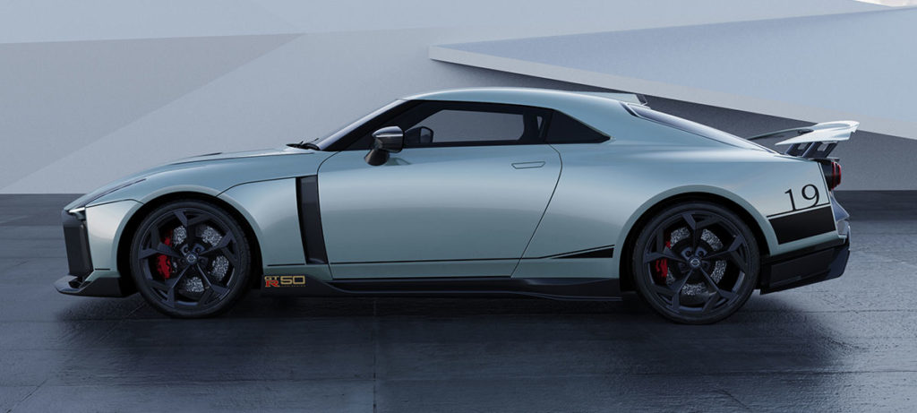 Nissan GT-R50 by Italdesign Geneva 2020