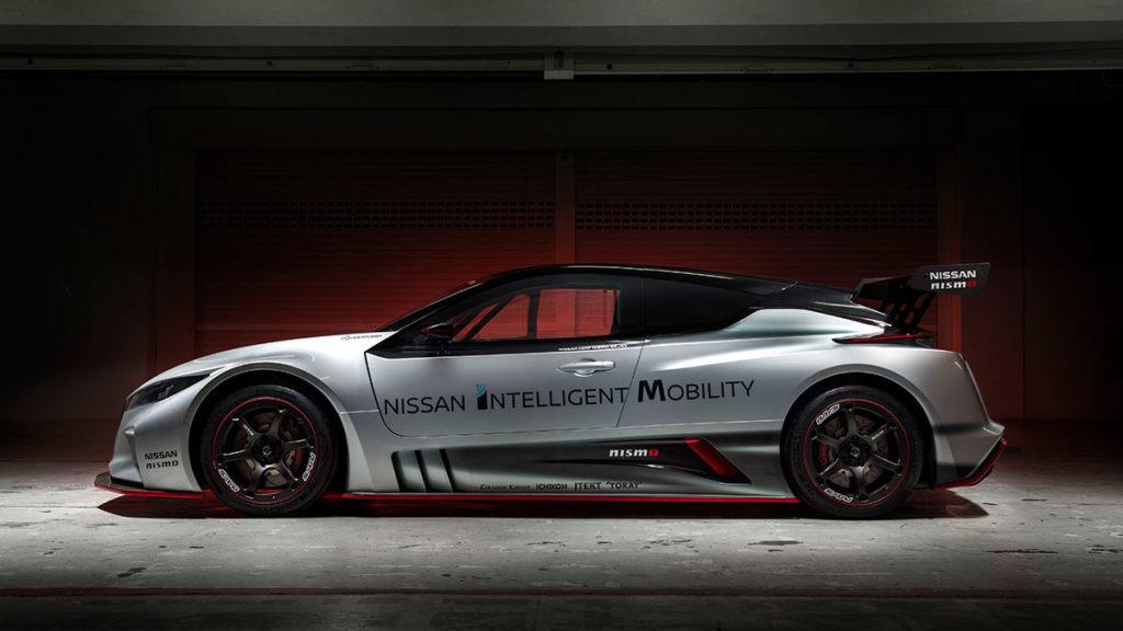 Nissan LEAF NISMO RC Racing Car