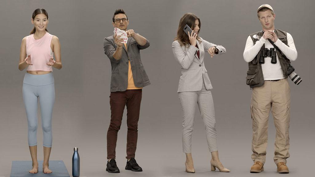 Samsung AI-powered Artificial Human CES 2020