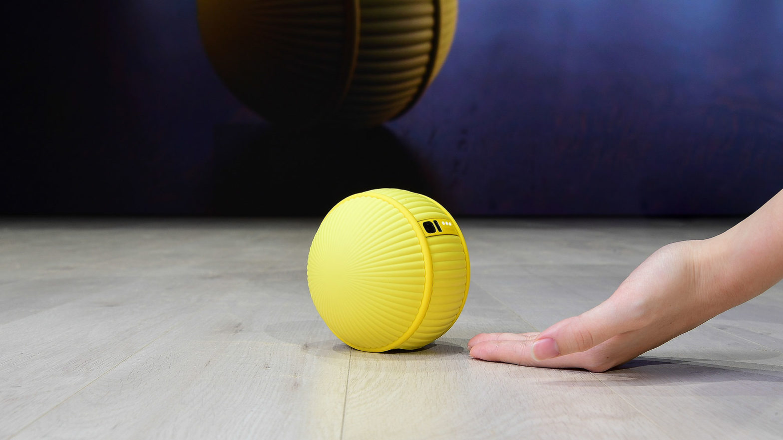 Samsung Developed Rolling Robot Ballie