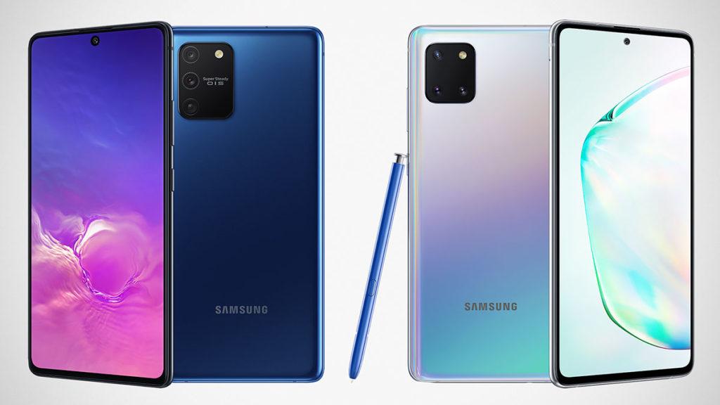 Samsung Galaxy S10 Lite and Galaxy Note10 Lite
