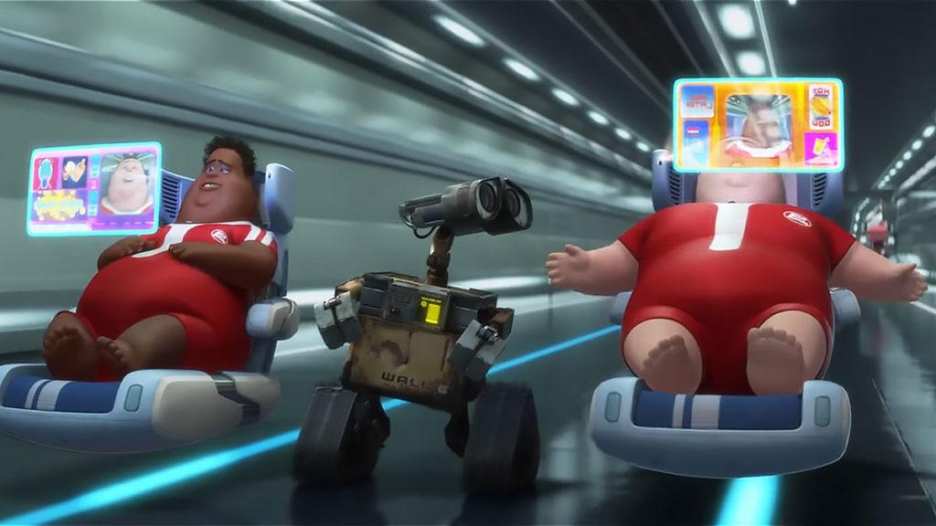 Screenshot Wall.E Pixar Animation
