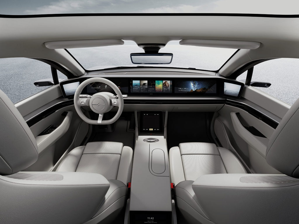 Sony VISION-S Prototype Vehicle CES 2020