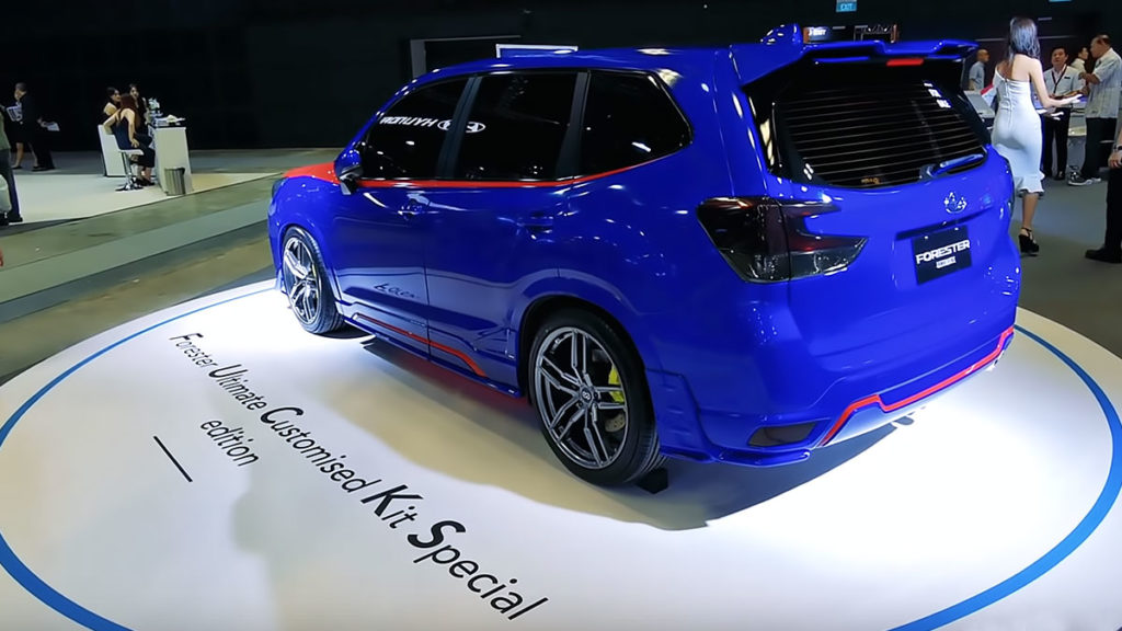 Subaru Forester Ultimate Customised Kit Special edition