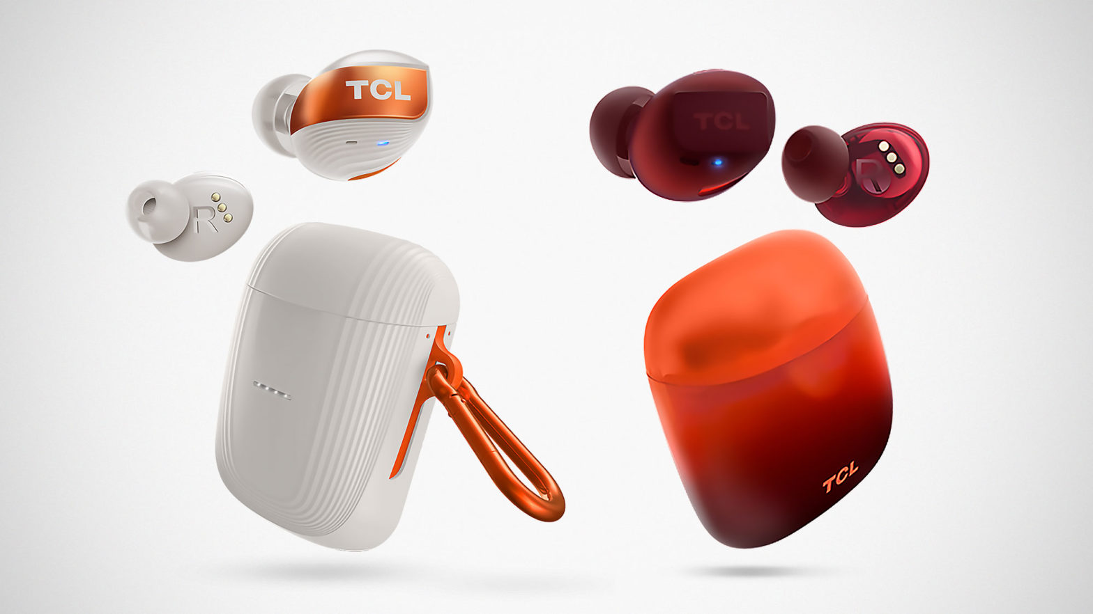 TCL SOCL and ACTV True Wireless Earbuds