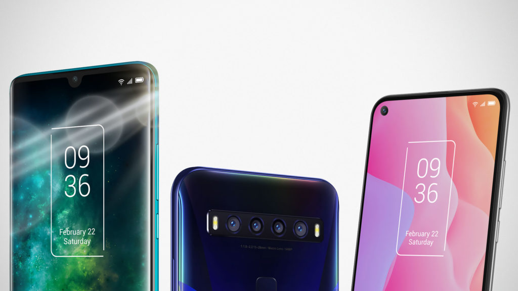 TCL Smartphones Previewed at CES 2020
