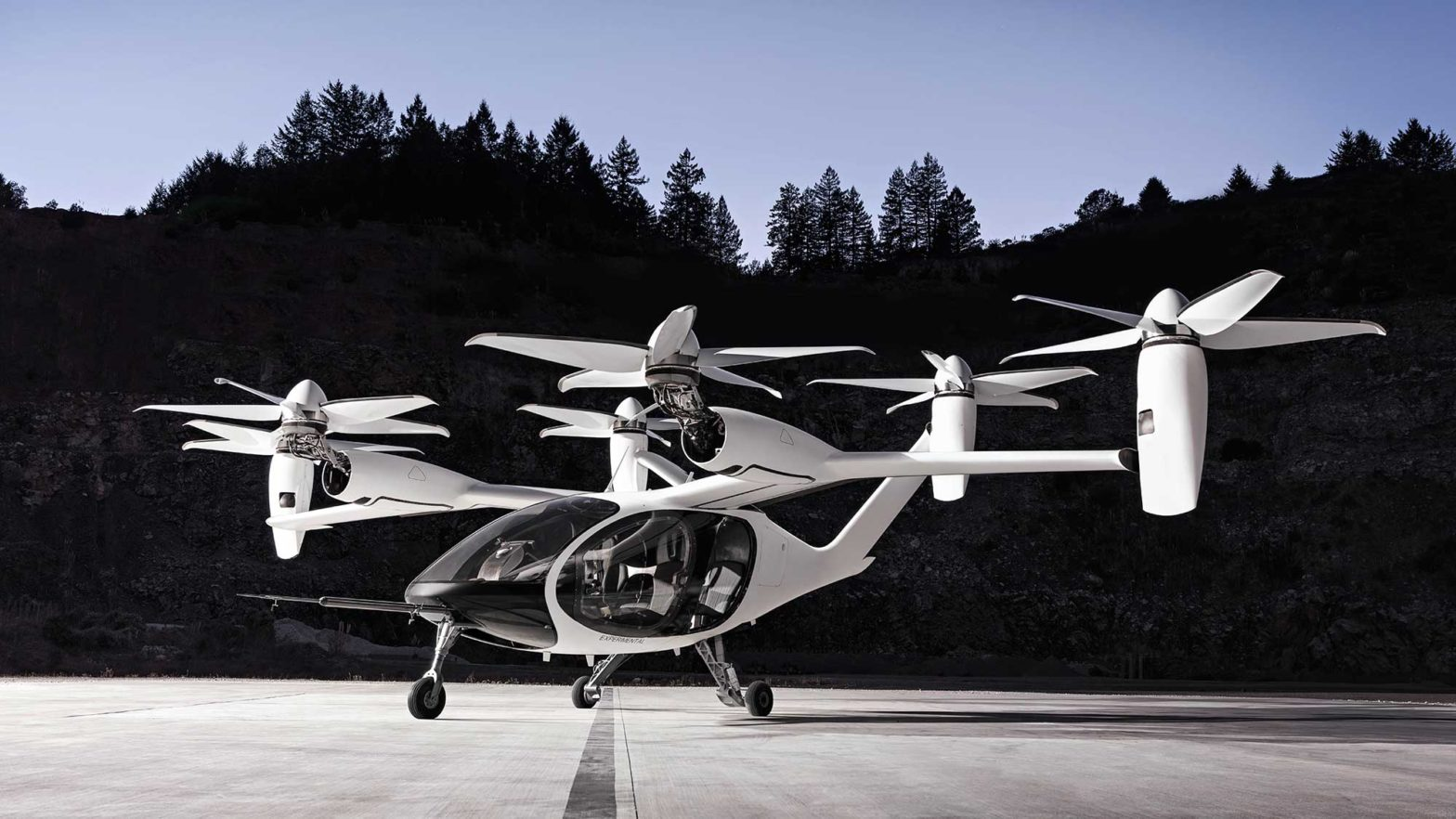 Toyota x Joby Aviation eVTOL Aircraft