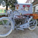 Restored 1916 Harley-Davidson Model J Package Truck To Go Under The Hammer