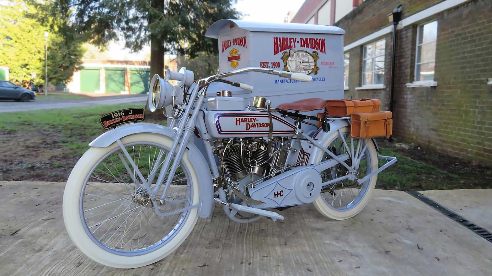 1916 Harley-Davidson Model J Package Truck