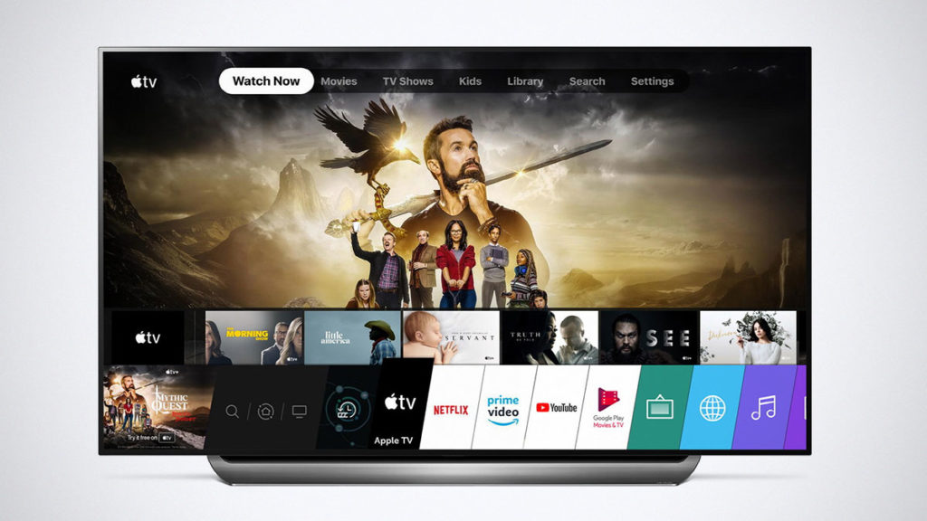 2019 LG TV Apple TV App and Apple TV+
