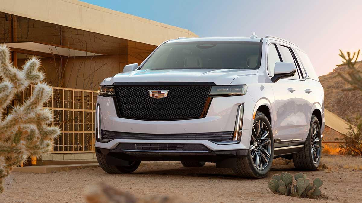 2021 Cadillac Escalade Has Premium AKG Audio And Curved ...