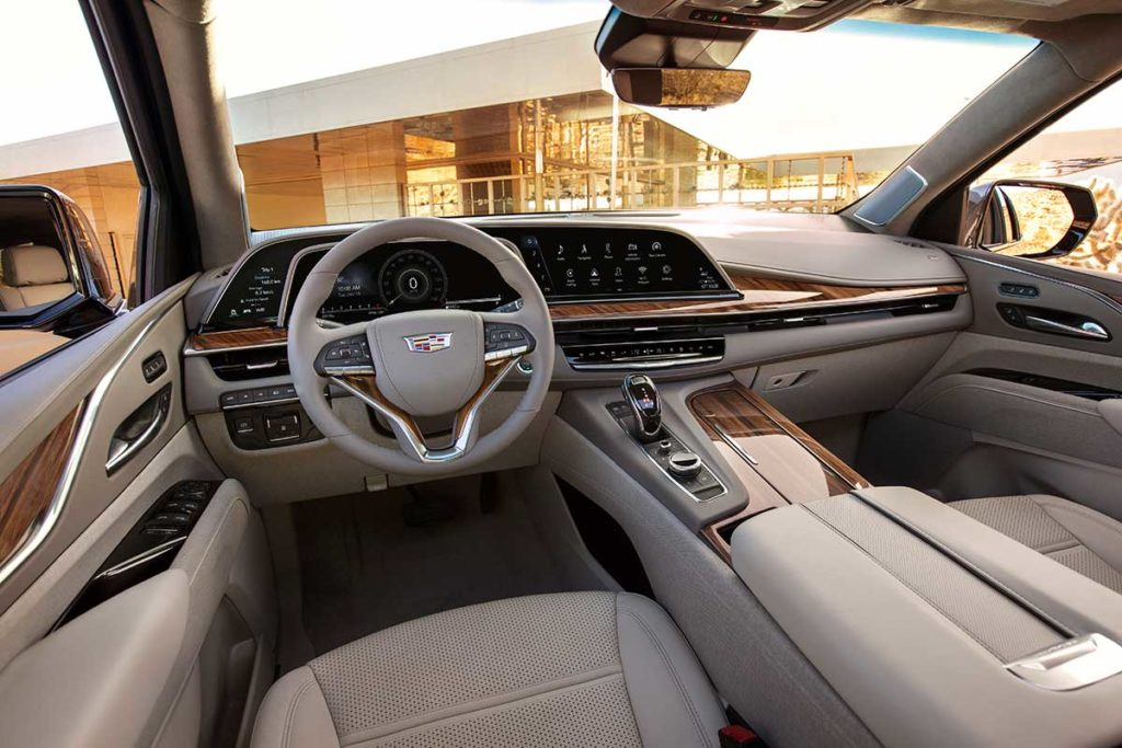 2021 Cadillac Escalade Luxury SUV Unveiled