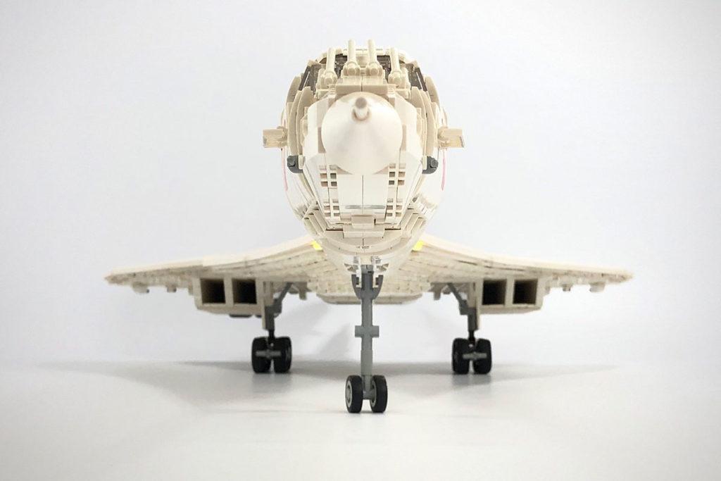 6000-Piece Custom LEGO Concorde Build