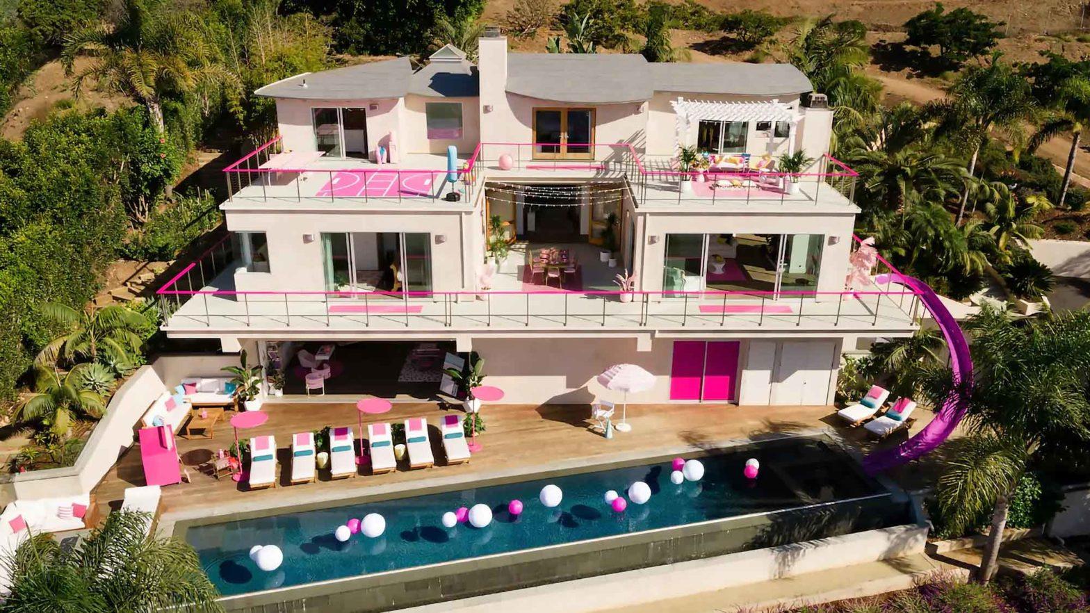 Airbnb Barbie's Malibu Dreamhouse