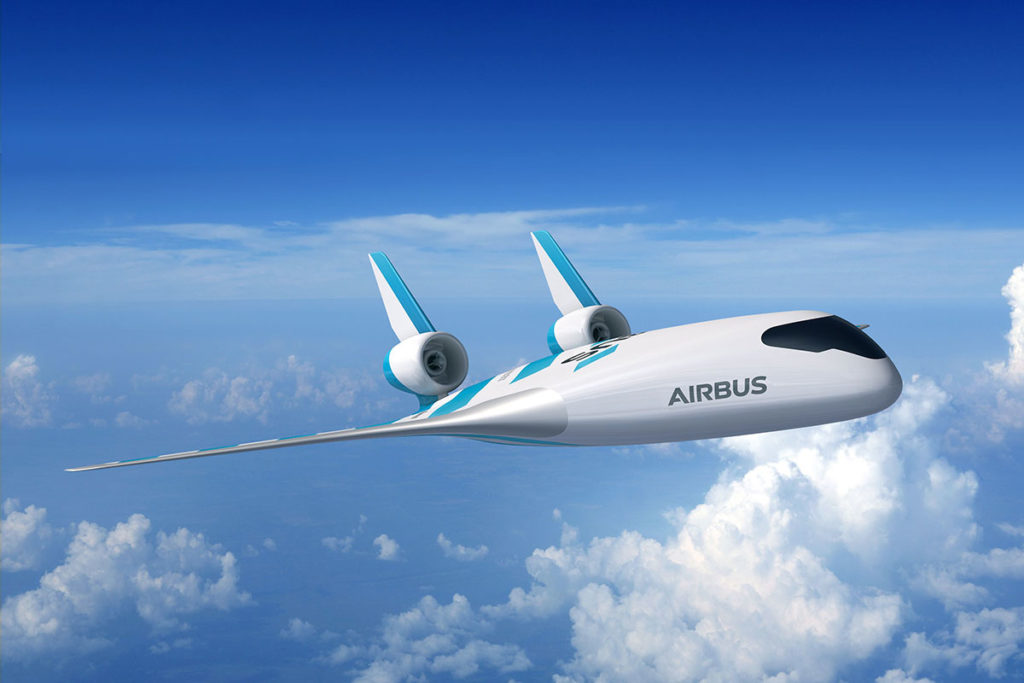 Airbus Blended Wing Aircraft Demonstrator