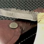 Buffalo Bone And Damascus Steel Makes This Folding Knife Heirloom Worthy