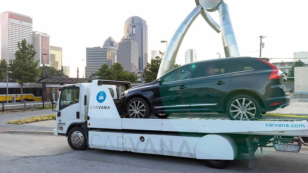 Carvana As-Soon-As-Next-Day Vehicle Delivery