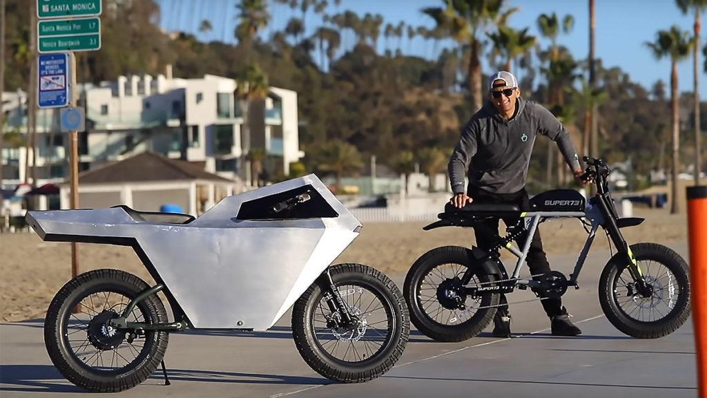 Casey Neistat x Super 73 Tesla Cyberbike
