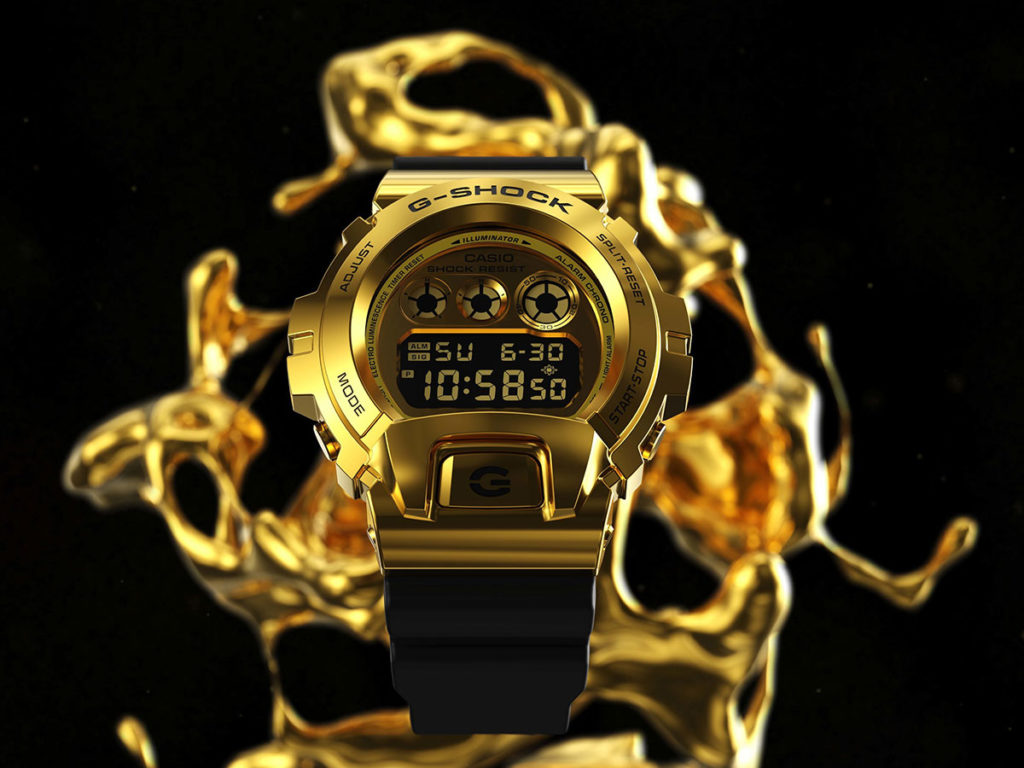 Casio G-Shock Forged Metal Bezel GM6900