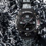 Casio G-Shock X Burton Mudmaster Has Snow-covered Tree Band Camo: Don't Drop It In The Snow!