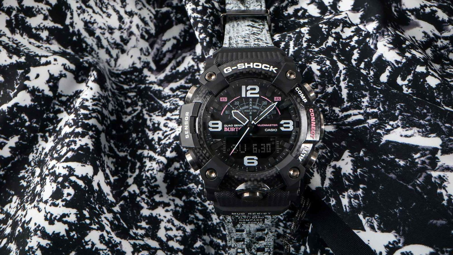 Casio G-Shock x Burton Mudmaster Watch
