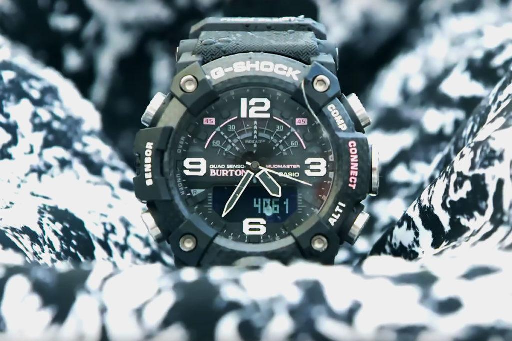 Casio G-Shock x Burton Mudmaster Watch