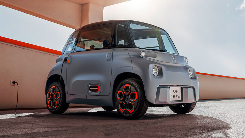 Citroën Ami Electric Micro Mobility Unveiled