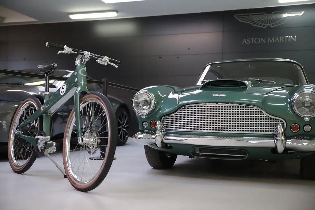 Coleen x Aston Martin Electric Bicycle