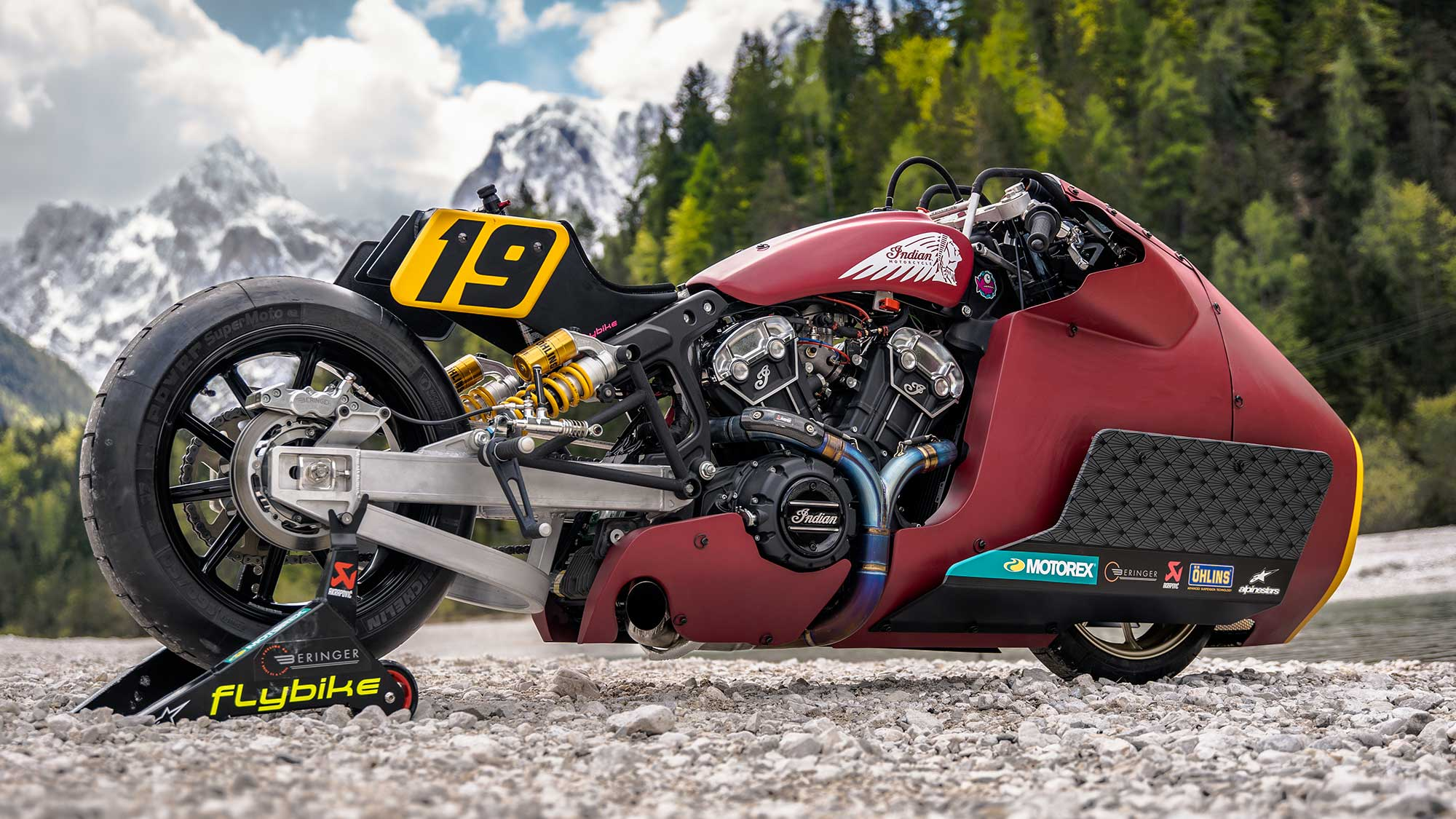 Jaw Dropping Custom Indian Scout Bobber From 2019 Gets Upgraded To Take On Ice Lake Shouts