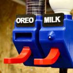 Brilliant Hands-free Oreo And Milk Dispensers Dispenses When You Open Your Mouth