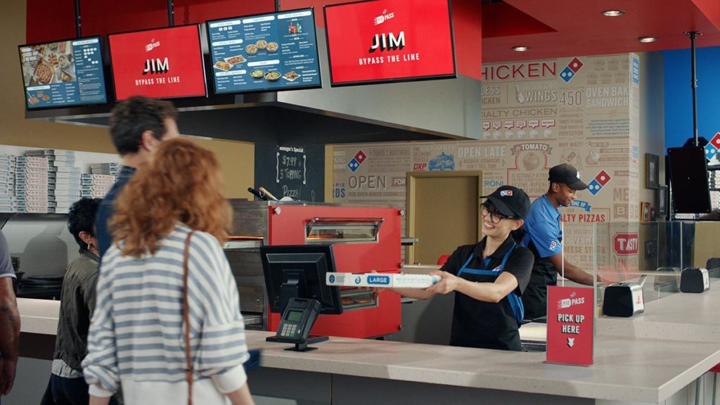 Domino's Pizza Cheers TV Commercial