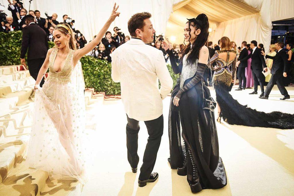 Elon Musk Grimes 2018 Met Gala