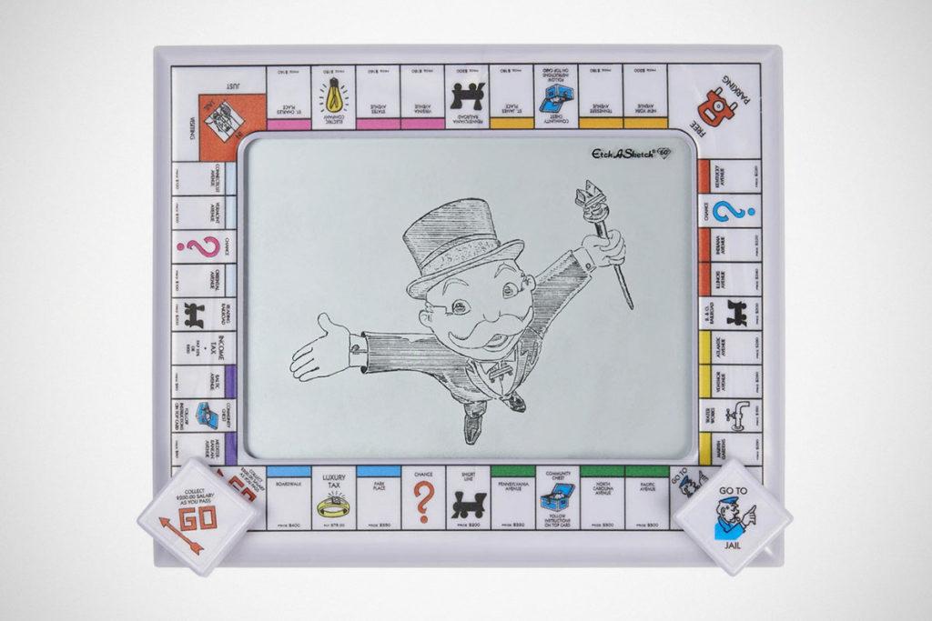 Etch A Sketch Monopoly Edition