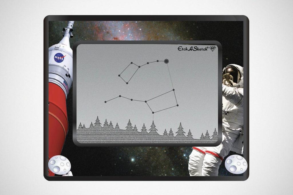 Etch A Sketch NASA Edition