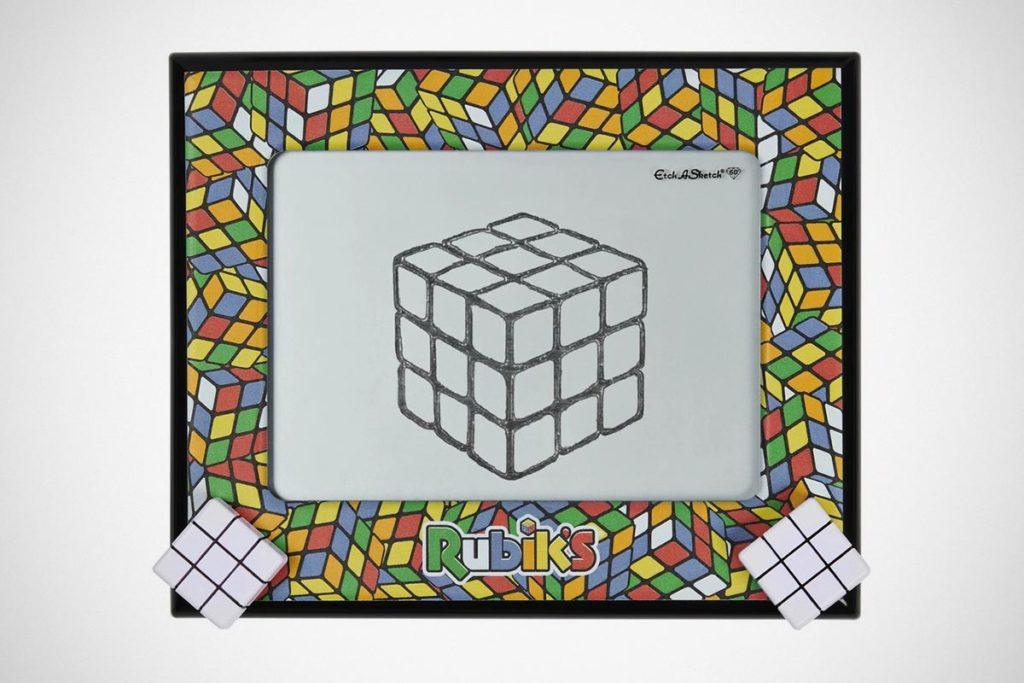 Etch A Sketch Rubik Edition