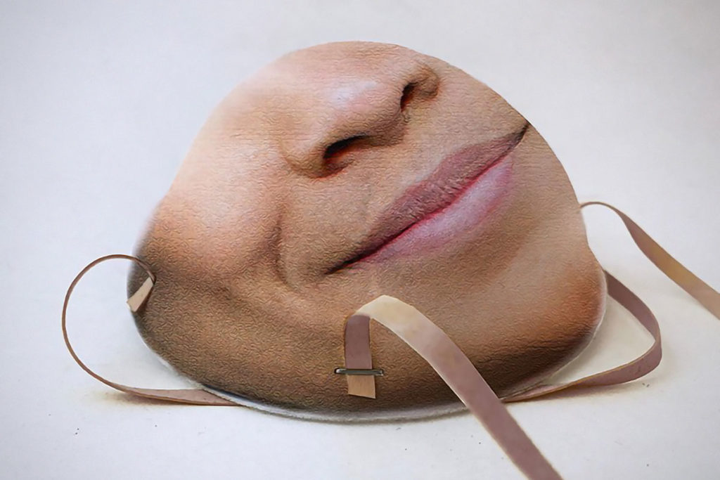 Face ID Compatible Respirator Mask