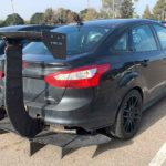 Ford Focus With Ridiculously Oversized Spoiler: Downforce Heist Of The Century?
