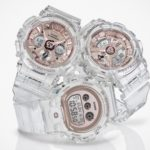 "Casio Outs ""Transparent x Rose Gold"" Series For Ladies And They Look Really Classy"