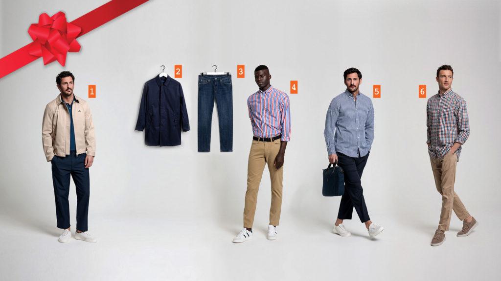 GANT Men's Clothing with TECH PREP Gift