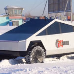 It is Done! Those Russian Car Builders Have Completed The UAZ-based Tesla Cybertruck!