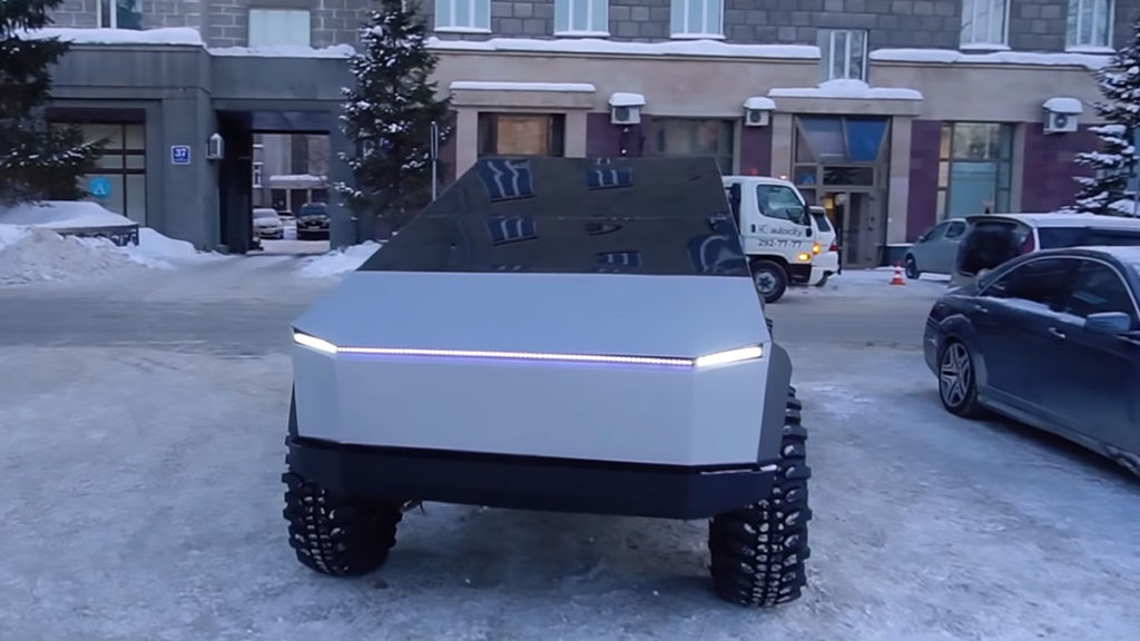 Garage 54 UAZ-based Tesla Cybertruck Completed