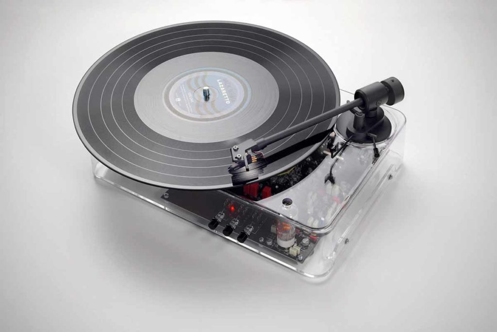 Gearbox MkII Automatic Turntable Transparent