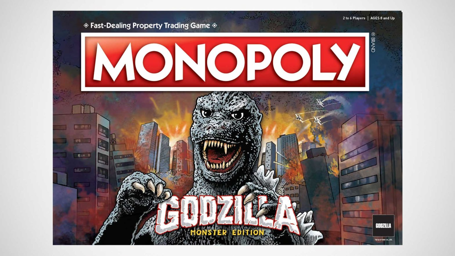 Godzilla Monopoly and Jenga Game