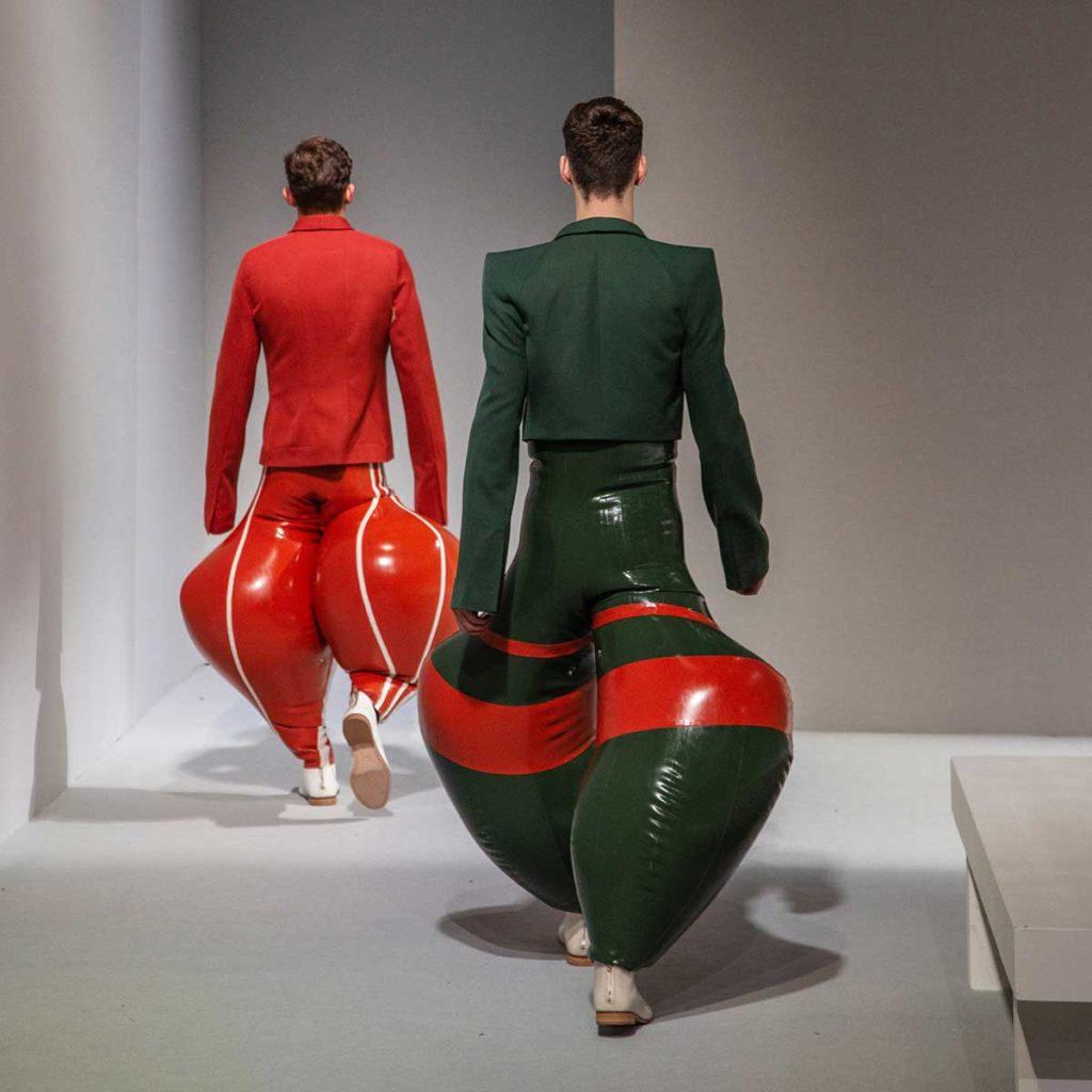 Harikrishnan's Inflatable Latex Trousers