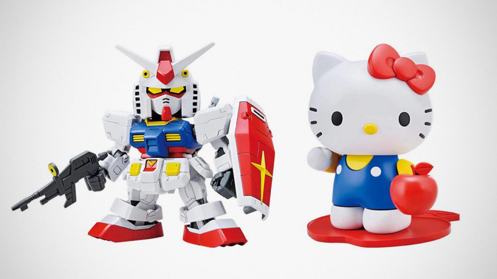 Hello Kitty RX-78-2 Gundam Kit
