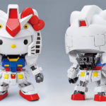 <em>Hello Kitty</em> Put On The <em>Gundam</em> Suit And Becomes Haro In This <em>Hello Kitty</em> x <em>Gundam</em> Collab