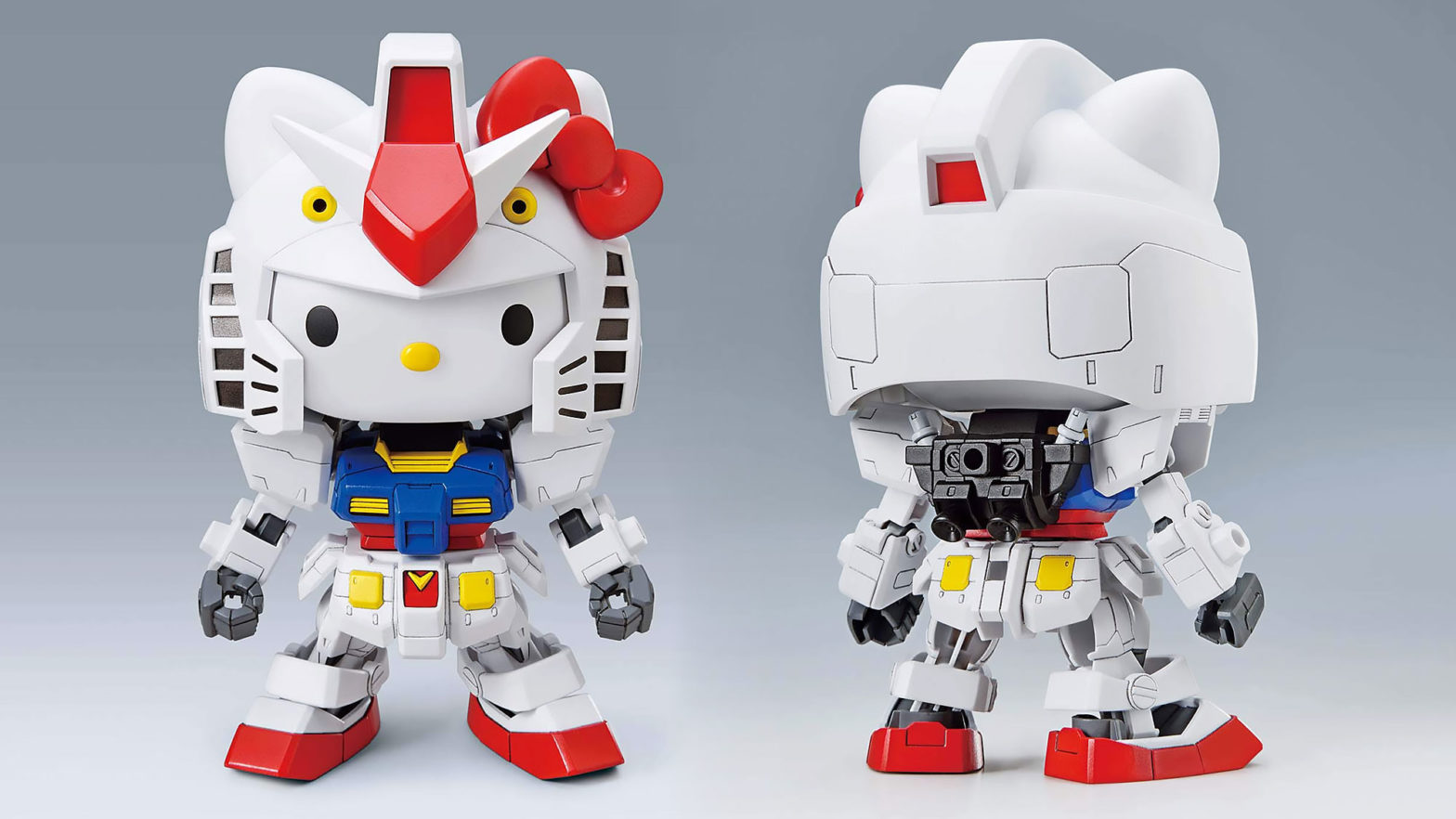 Hello Kitty RX-78-2 Gundam and Haro Kit